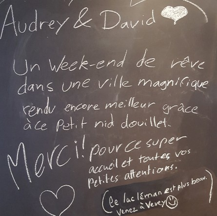 Audrey et David