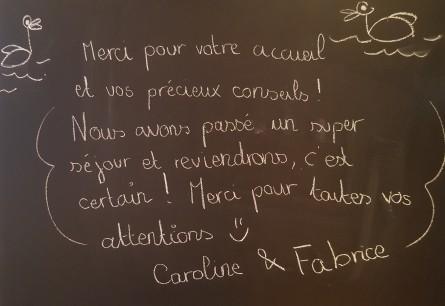 Caroline et Fabrice