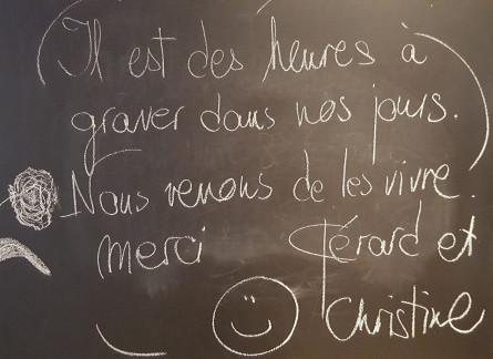 Christine et Gérard