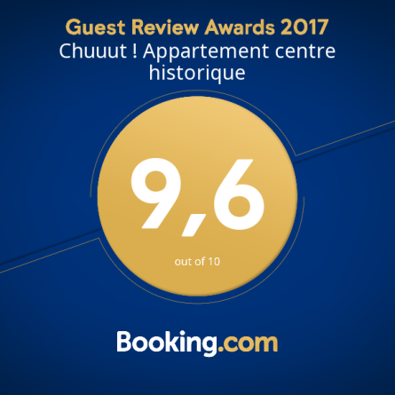 Super note des clients Booking 2017
