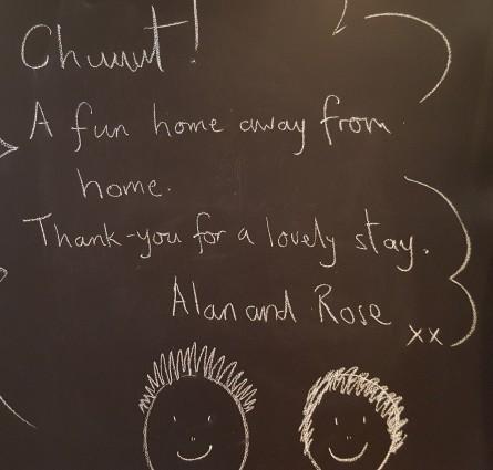 Rose and Alan