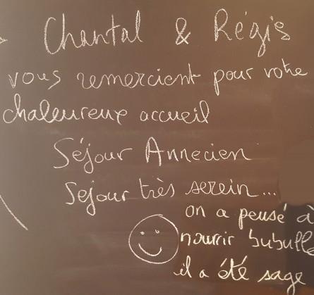 Chantal et Régis
